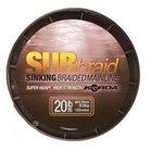 Korda - Lijn gevlochten Sub Braid Sinking Braided Mainline - 450m - Sub Green - Korda