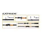 Spinhengel EXPRIDE 266L-2 - 1,96m (4-12gr) - Shimano