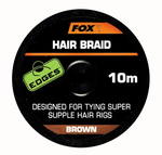 End Tackle Edges Hair Braid - Fox Carp