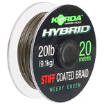 End Tackle Hybrid Stiff 20lb Weed Green 20m - Korda