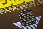 End Tackle Subline Tapered Leader - Korda