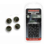 End Tackle Rubber Shock Beads 8 Mm Weedy Green - Starbaits