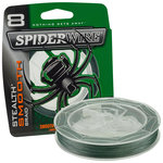 Spiderwire - Lijn gevlochten Stealth Smooth 8 Moss Green 300m - Spiderwire