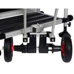Fix 2 - Zitmand accessoire transportsysteem met centrale wielsteun - Fix 2