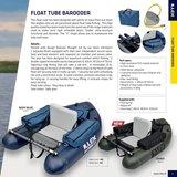 Illex - Belly Boat Float Tube Barooder 160 blue marine - Illex_