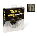 Lijn nylon Power Leader Geel 20m - Black Cat_