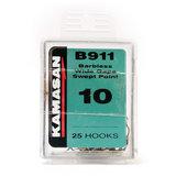 Kamasan - Haken Wide Gape Spade End Barbless - B911 - Elite_