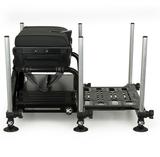 Station S25 super box BLACK inc 1 x shallow trays & lid - Matrix_