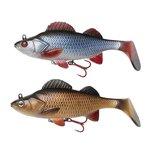 Effzett - Softbaits Natural Perch Paddle Tail - Effzett