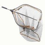 Savage Gear - Schepnet Pro Folding Rubber Large Mesh Landing Net XL - Savage Gear