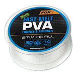 Fox Carp - End Tackle Fast Melt PVA Funnel & Plunger Stix Refill - Fox Carp