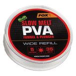 Fox Carp - End Tackle Slow Melt PVA Funnel & Plunger Wide Refill - Fox Carp