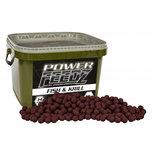 Starbaits - Boilies Power Feedz Fish & Krill 14mm - 1,8kg - Starbaits
