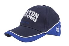 Pet Blue Cap - With Blue And White Piping  Bo - Preston