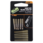 End Tackle Edges Drop-off Inline Lead Kit x 5 inserts / tail rubbers - Fox Carp