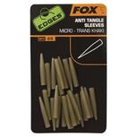 End Tackle Edges Anti-tangle Sleeve Micro - trans khaki - Fox Carp
