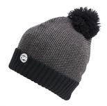 Muts Chunk Grey/Black Bobble Hat - Fox Carp