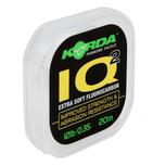 Lijn Fluorocarbon IQ Extra Soft Fluorocarbon Hooklink - Korda