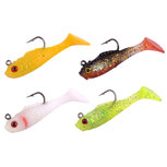 Trout Master - Kunstaas Shad 4cm 2gr Assortiment B - SPRO