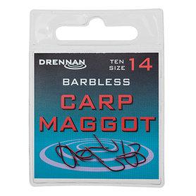 Drennan - Haken Barbless Carp Maggot - Drennan