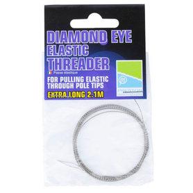 Preston - Elastiek Diamond Eye Extra Threader - Preston