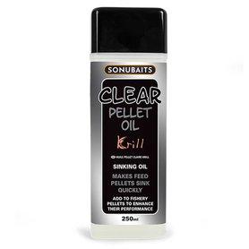 Sonubaits - Smaakstof Clear Pellet Oil Krill - 250ml - Sonubaits