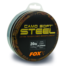 Lijn nylon Edges Soft Steel Dark Camo - Fox Carp