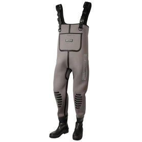 SPRO - Waadpak 5mm Neoprene Chest Wader Rubber Boots - SPRO