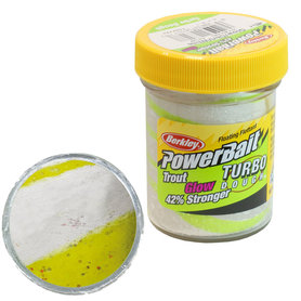 Berkley - Kunstaas powerbait glow sunshine yellow / white - Berkley