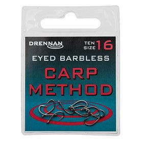 Drennan - Haken Eyed Barbless Carp Method - Drennan