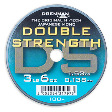 Drennan - Lijn nylon Double Strength 100m- Drennan