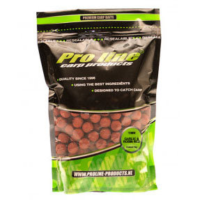 Pro Line - Boilies Garlic & Robin Red- 1kg - Pro Line
