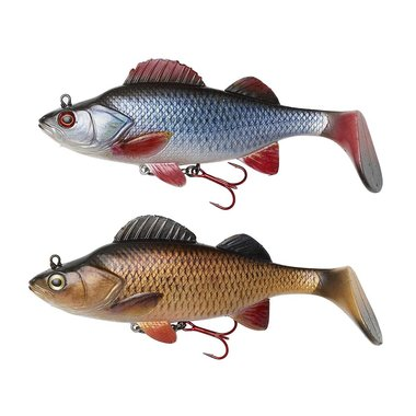 Effzett - Softbaits Natural Perch Paddle Tail - Effzett