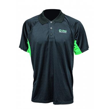 Sensas - Polo ademend zwart & groen - Sensas