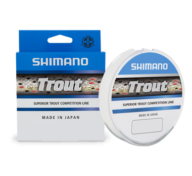 Lijn nylon Trout Clear 300m - Shimano