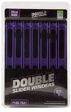 Lijnlatten Double Slider Winders 26Cm Wide Purple  - Preston