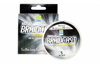 Reflo Braid Cast - Tapered Leaders  - Preston