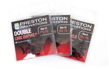 Wartels Double Link Swivels - Size 12  - Preston