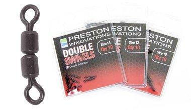 Wartels Double Swivels - Size 10  - Preston