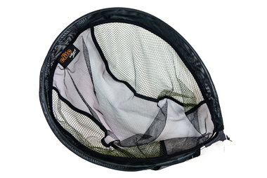 Schepnet Oval Pannet 40x50 black/olive green - Elite