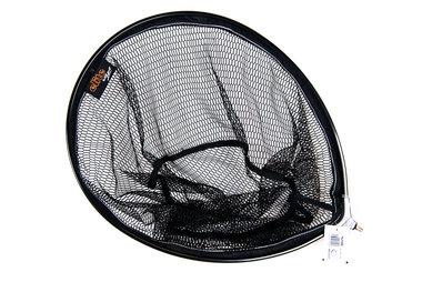 Schepnet Oval Pannet 40x50 black - Elite