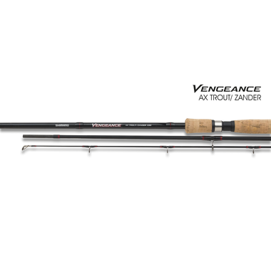 Spinhengel Vengeance AX Trout/Zander - 3,60m (5-40gr) - Shimano