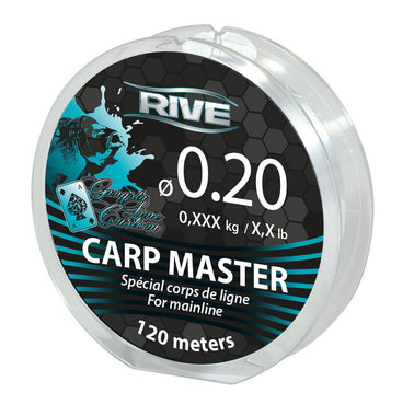 Lijn nylon Carp Master Line Diam 120m Transparent - Rive
