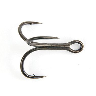 Haken Powerpoint Dropshot Wacky Style Hook Size 1/0 x 10pc - Fox Rage
