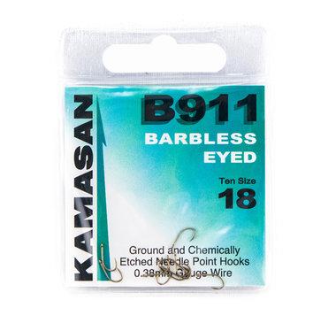 Haken Kamasan Barbless Eyed - Elite