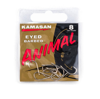 Haken Kamasan Eyed Barbed - Elite