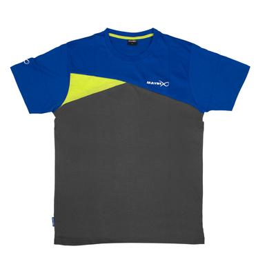 T-Shirt Blue/Grey - Matrix