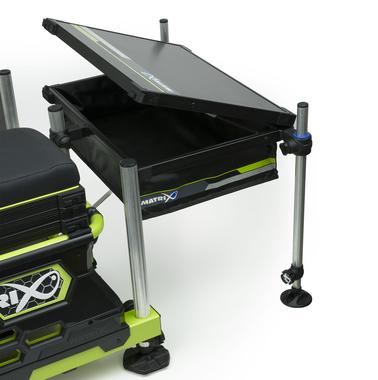 Zitmand accessoire collapsible side tray inc 2 legs - Matrix