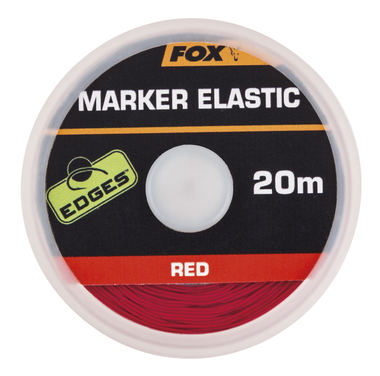 End Tackle Edges Marker Elastic x 20m red - Fox Carp