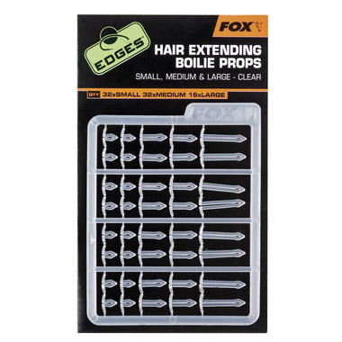 End Tackle Edges Extender Stops x 2 clear - Fox Carp